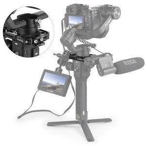 Image 5 - DJI Ronin S Gimbal Stabilizer 용 SmallRig Rod Clamp 1/4 및 3/8 나사 구멍이있는 퀵 릴리스로드 클램프 키트 2221