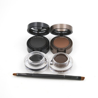 Eyebrow Powder Eyebrows Eyeliner Gel Long Wear Gel Eyeliner Brown With Brush 1pcs 2color Waterproof Sweat