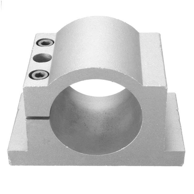 1PCS 65mm Diameter Spindle Motor Mount Bracket Clamp For CNC Engraving Machine with 2pcs screws free 1pcs er11 chuck dc 12 48 cnc 300w spindle motor mount bracket 24v 36v for pcb engraving