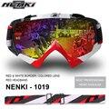 100% nenki mx goggle gafas óculos de motocross casco do capacete da motocicleta viseira escudo moto