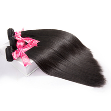 3 Bundles Brazilian Virgin Hair With Closure.