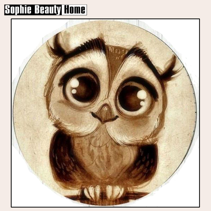 2018 Direct Selling 5d Diy Painting Cross Stitch Cute Owl Crystal For Square Diamond Mosaic Sets Needlework 3d Full Embroidery