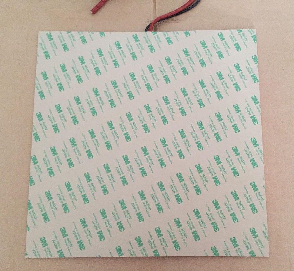 Elemento riscaldante silicone riscaldatore termostato 75C 280x280mm 12 V 300 W réchauffeur de silicone pour le chauffage de l'équipement de service alimentaire