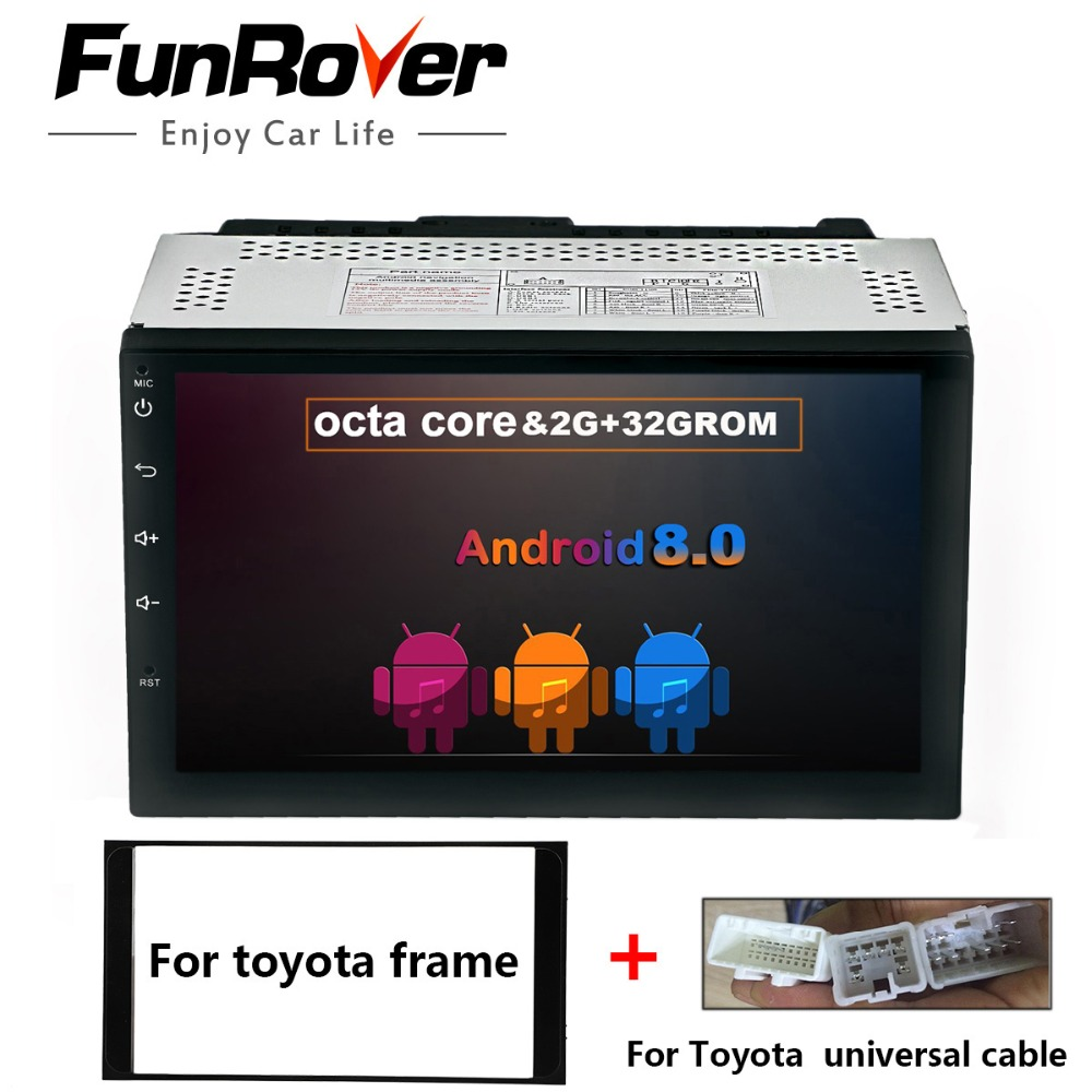 FUNROVER 8 cores 2 Din Universal 7''Android 8.0 Car GPS DVD multimedia stereo for Toyota Universal Hilux Vios Old Camry Prado fm shoes real cowhide against the stench martial arts kung fu shoes figure end of antiskid beef tendon yin and yang page 1