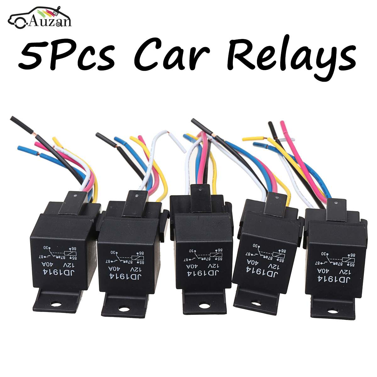 5Pcs Car SPDT Automotive font b Relay b font DC font b 12V b font 5 krp relay 8 pin wiring diagram gandul 45 77 79 119 krpa-11dg-24 wiring diagram at suagrazia.org