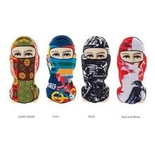 Мотоциклетная маска для лица Велоспорт Лыжная защита для шеи Открытый Ультратонкий дышащий WindproofFull маска для лица