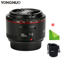 YONGNUO YN50mm F1.8 II Large Aperture Auto Focus Lens Small Lens with Super Bokeh Effect for Canon EOS 70D 5D3 600D DSLR Camera