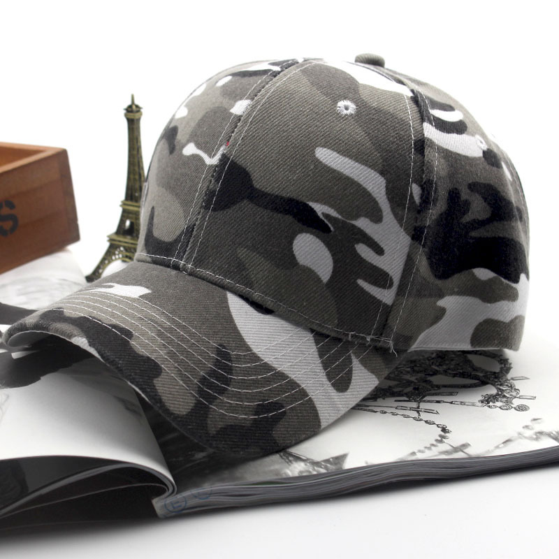 Baseball-Caps Camouflage Sun-Hat Couple Adjustable Unisex Women Casual for Outdoor Wholesale