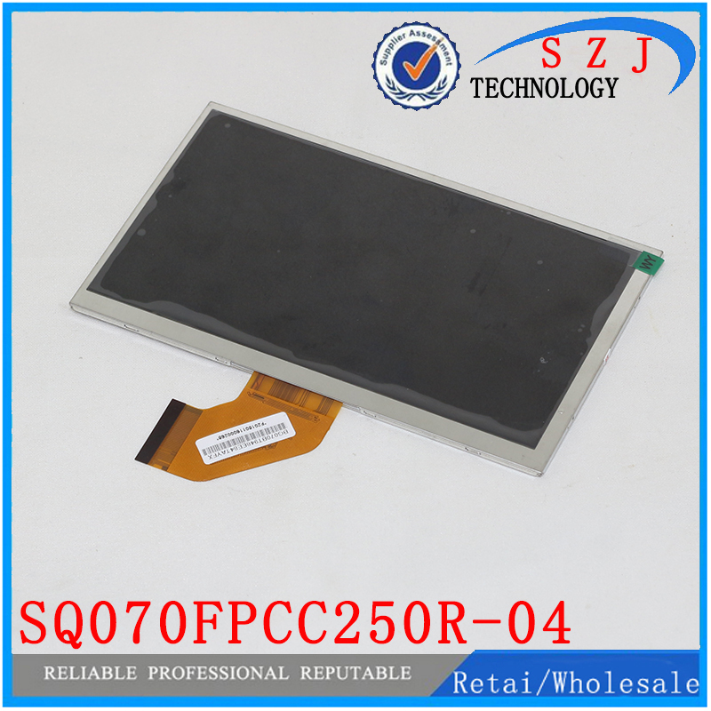 Original 7'' inch LCD Display Panel SQ070FPCC250R-04 for Tablet pc LCD screen Replacement Free shipping noble people шапка rnb широкие полоски для мальчика 19515 1238 голубой noble people