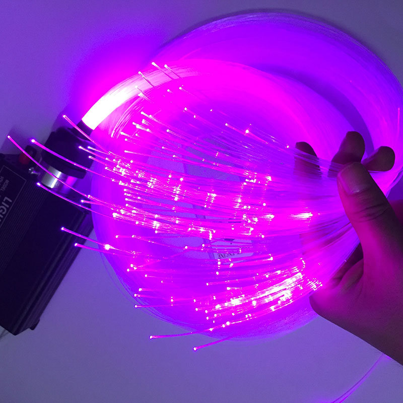1.0mm 1500m Led Optic Fiber Lights PMMA Plastic Fibre Optique Light Strands  Star Sky Ceiling End Glow Fiber Optic Cable In Optic Fiber Lights From  Lights ...