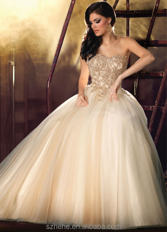 Cream Colour Bridal Dresses