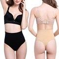 Oi-cintura Shapewear Sem Costura das mulheres Breve Firm Controle Tummy Emagrecimento Cintura Instrutor Calças G-corda Thong Corpo Bunda Levantador Shaper