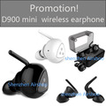 Promotion! 100% original Syllable D900 Mini Headphone Bluetooth Stereo Wireless Earphone Bluetooth Headset Handsfree Mini Earbud