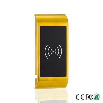 Serrure électronique | Alliage De Zinc Rifd 125 KHZ Serrure De Porte électronique En Métal Serrure De Casier Numérique Serrure De Porte D'armoire