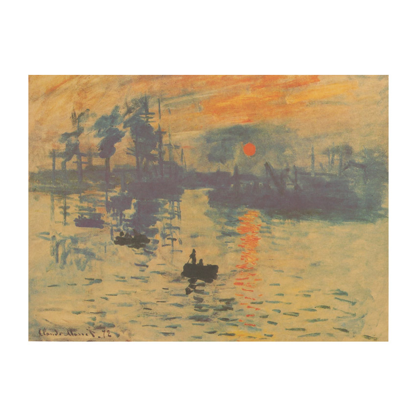 impression sunrise claude monet Impression, sunrise is a painting completed in 1872 by claude monet impression, sunrise is credited for starting the impressionist movement the impression, sunrise is a 19th-century oil painting from which the impressionism movement began.