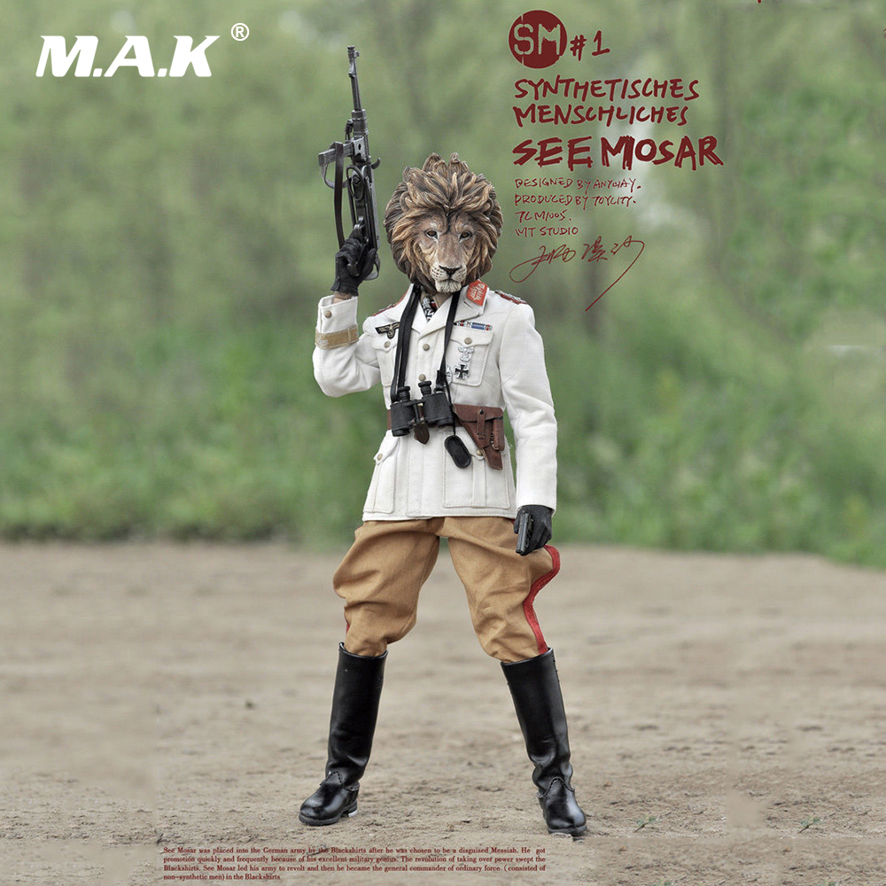 """For Collection 1/6 M1005 SYNTHETISCHES MENSCHLICHES- SEE MOSAR 12"""" Collectible Action Figure for Gift"""