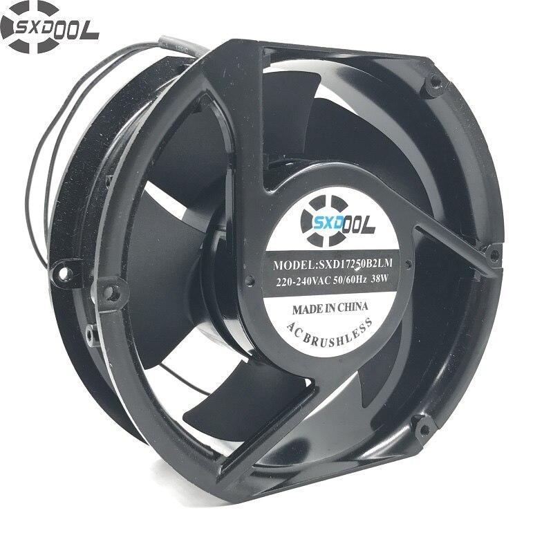 Sxdool Фирменная Новинка вентиляторы SXD17250B2LM FP-108EX 35 Вт 1751 172*152*51 мм AC 220 В промышленные воздуходувки Вентилятор охлаждения