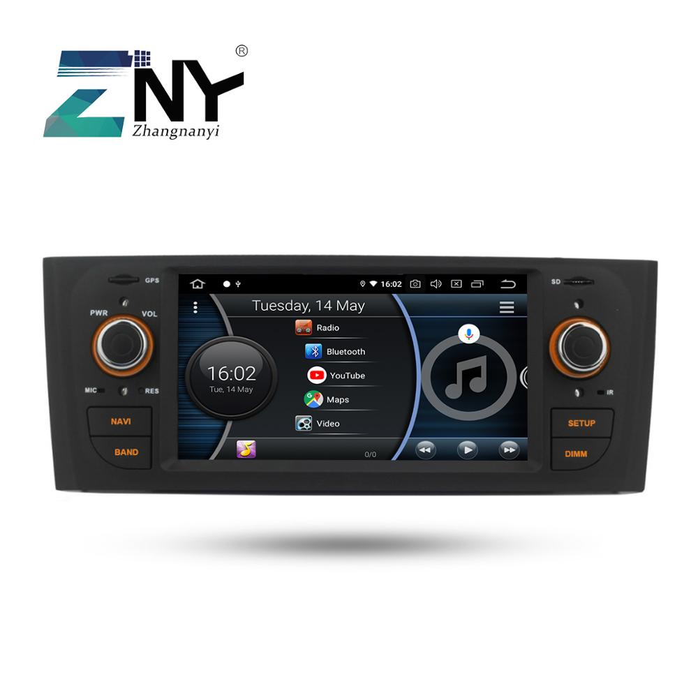 Image 5 - Android 8.1 Car Audio Video For Fiat Grande Punto Linea 2007 2008 2009 2010 2011 2012 GPS Navigation Radio Rear Camera No DVD-in Car Multimedia Player from Automobiles & Motorcycles