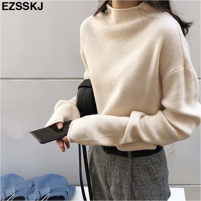 Korean version of the loose autumn and winter sweater soft bottoming