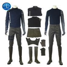 ManLuYunXiao 2018 New Movie Avengers Infinity War Cosplay Costume Men Winter Soldier Cosplay Costume Free Shipping Custom Made