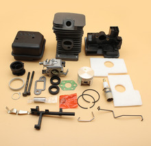 38mm Cylinder Piston /Muffler /Carburetor /Intake Housing Kit For STIHL 018 MS180 MS 180 Chainsaw