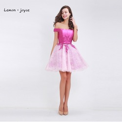 Homecoming dresses a line for gratuating date 2017 lace appliques off the shoulder a line prom.jpg 250x250
