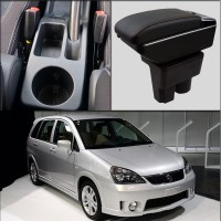 For Suzuki Liana A6 armrest box central Store content box with cup holder ashtray USB Liana A6 armrests box