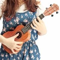 Zebra 21inch 4 Strings 15 Frets Mahogany Soprano Ukulele Electric Bass Guitar For Musical Stringed Instruments 2019