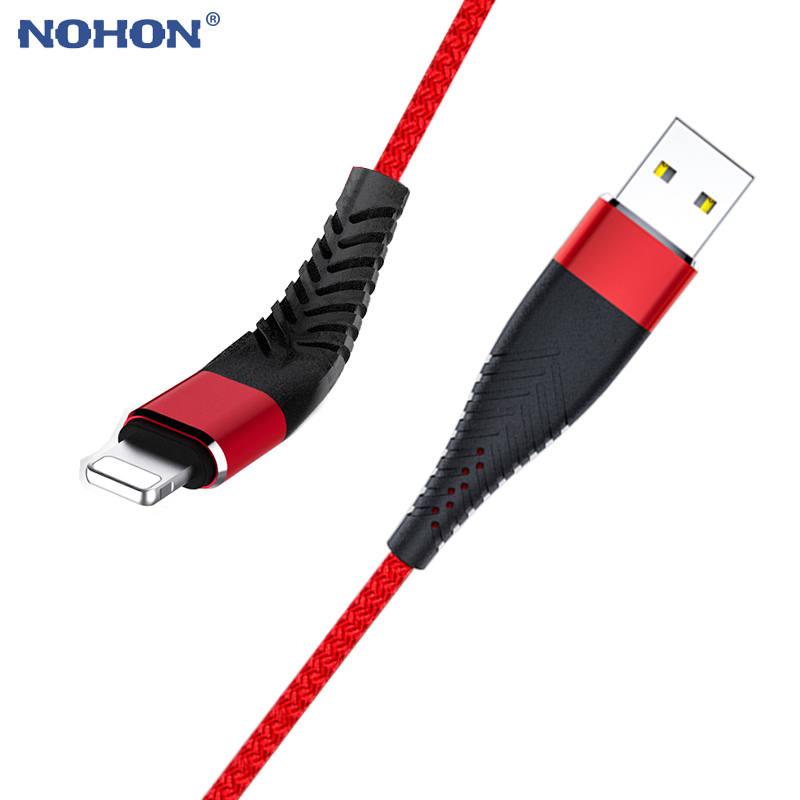 20cm 1m 2m 3m USB Cable For iPhone Xs Max XR X 6 s 6s 7 8 Plus 5 5s SE iPad Pro Nylon Fast Charger Charging Data Cord Long Wire|Mobile Phone Cables| |  - AliExpress