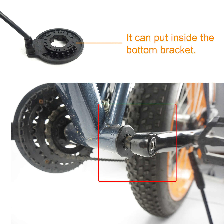 KT V12L PAS Sensor Ebike Pedal Assistant Sensor for Electric Bike Conversion Kit