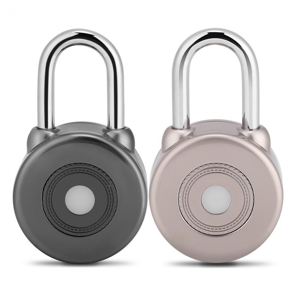 Wireless Bluetooth Smart Door Lock Waterproof APP Control Keyless Gate Bicycle Security Padlock Assortment