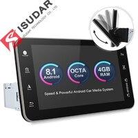 Isudar 2 din Android 8,1 Автомобильный мультимедийный плеер универсальный dvd плеер для Nissan/Tiida/QASHQAI Восьмиядерный радио gps ГЛОНАСС 32 г Встроенная памят