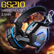 Each GS210 Professional Gaming Mic Stereo Bass Headset for PC Notebook Electronic Sports Equipment Game Master Choice