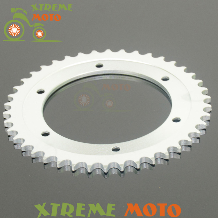 42T Rear Sprockets For Suzuki DR650 SE-T,V,W,X,Y,K1-K9,L0,L1,L2,L3  96-13  XF650 V,W,X,Y,K1,K2 Freewind 97-02 Motocross Enduro rear brake disc rotor for suzuki dr 650 se 96 12 k1 k2 k3 k4 k5 k6 k7 k8 k9 xf 650 freewind 97 98 99 00 01 02 03