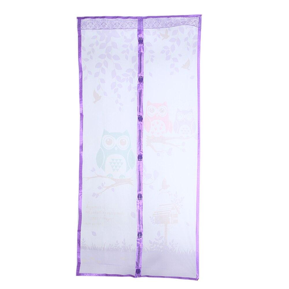 magnético tule porta cortina fecho automático tela
