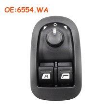 6554.WA 6554WA Elektrische Fensterheber Schalter Master Button Control Für Peugeot 206 206 CC 206SW 306 206 Saloon 2007-2016 auto