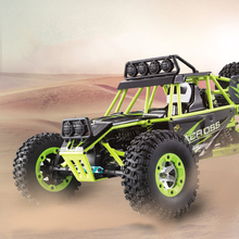 RC Car WLtoys 12428 4WD 1/12 2.4G 50km/h High Speed Monster Truck Radio Control RC Buggy Off-Road RTR With LED Light