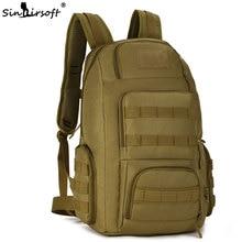 Ketibaan Baru! SINAIRSOFT Backpack Taktikal 40L Lelaki Sukan Beg perkhemahan Rucksack luar Mendaki Mochila Ransel Mendaki Ketenteraan
