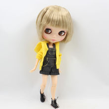 Factory Neo Blythe Male Doll Dirty Blonde Short Hair Jointed Body 30cm