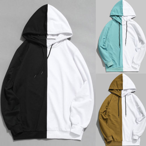 Autumn Street Wear New Men's Hoodie Gym Bodybuilding Casual Cotton Long Sleeve Top Hooded Shirt Jumper