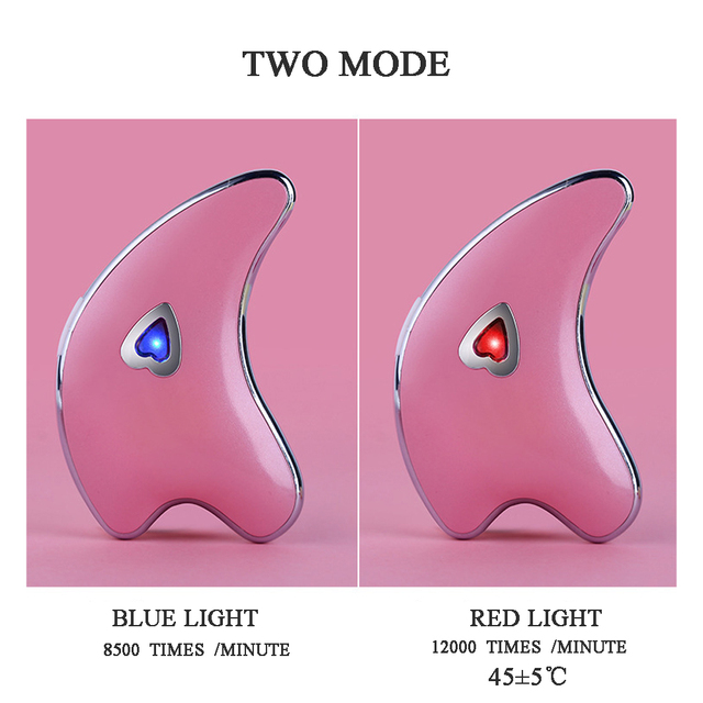 USB Charging Dolphin Face Massager