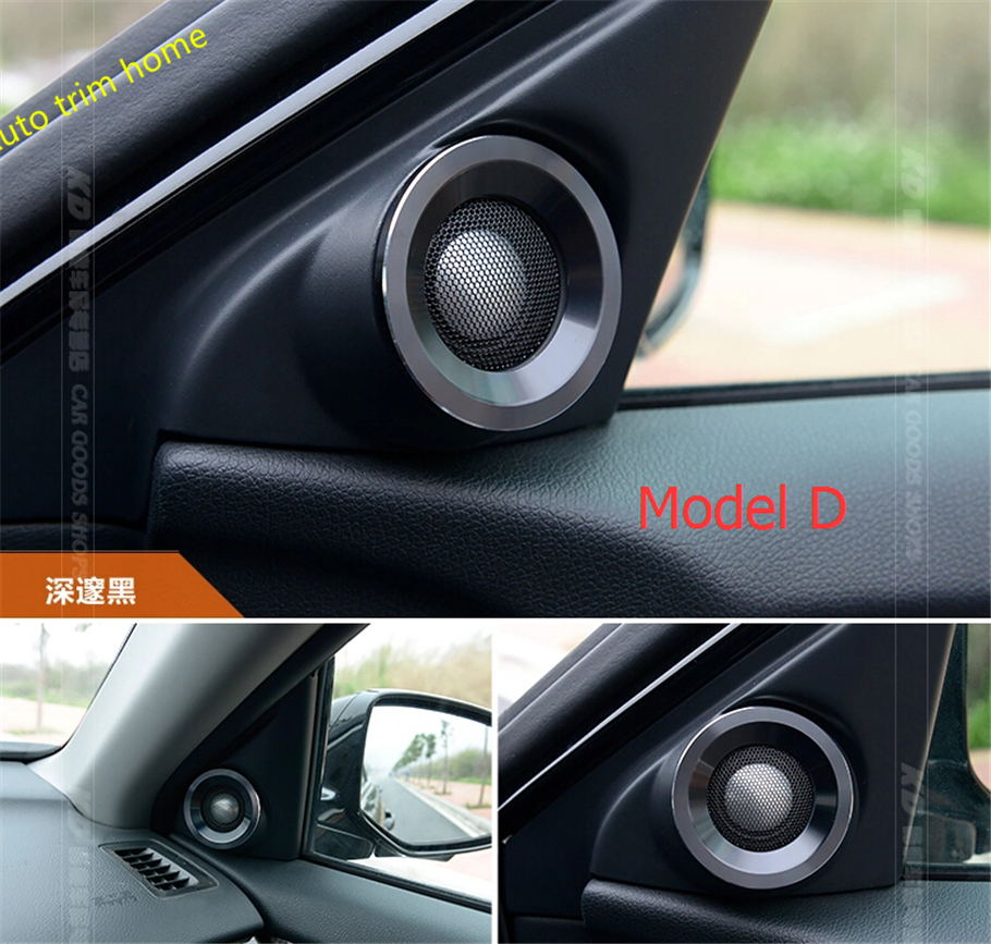 Aliexpress com buy door stereo speaker cover trim ring 2 pcs set for honda accord 2013 2014 2015 from reliable trim cover suppliers on auto trim home