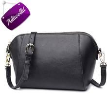 Shell Women Bag Hot Sale 2017 Female Messenger Bags Fashion Leather Lady Crossbody Mini Shoulder Bags Handbags Bolsas Feminina