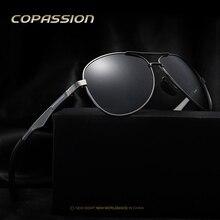De aluminio Y Magnesio gafas de Sol Polarizadas de Los Hombres gafas de conducción del Conductor Pesca hombres gafas de sol uv400 oculos gafas gafas de sol