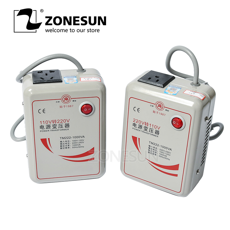 ZONESUN <font><b>500W</b></font> 1000W 2000W 3000W Power Transformer <font><b>220V</b></font> Turn <font><b>110V</b></font> <font><b>to</b></font> <font><b>220V</b></font> Appliances Voltage Power <font><b>Converter</b></font> 50Hz/60Hz image