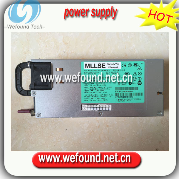 нр dps 1200fb - 100% working power supply For DL580G5 DPS-1200FB A 438202-001 441830-001 440785-001 1200W power supply ,Fully tested.