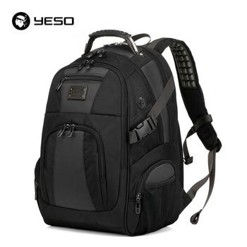 YESO Laptop Backpack Men 14 15.6 inch Multifunction School Bags Waterproof Oxford Backpacks For Teenagers Casual Travel Backpack laptop bag