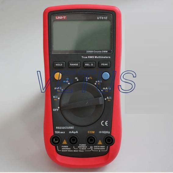 UNI-T UT61E UT-61E LCD Handeld modern Digital Multimeter tester free shipping uni t c handeld lcd luminometer illuminometer lux meter tester