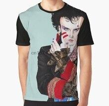 d6d4d47a All Over Print Women T Shirt Men Funny tshirt Adam Ant Graphic Women T-Shirt