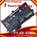 11.4V 43WH 1588-3366 Genuine Original AA-PBVN3AB Battery Samsung NP470R5E 510R BA43-00358A